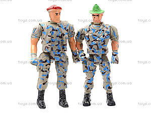 Игровой военный набор в рюкзаке, 6837, фото