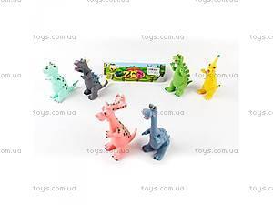 Игровые фигурки динозавриков,