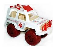 Игрушечная детская машинка «Скорая помощь», МГ 164, фото