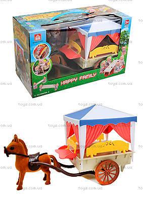 Игрушечная карета Happy Family, 012-06