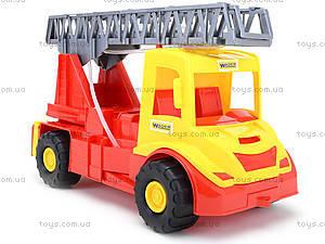 Игрушечная машина для детей «Пожарная», 32170, фото