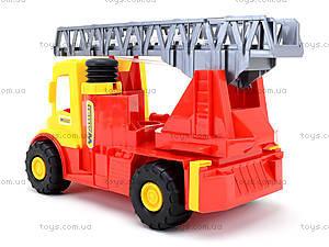 Игрушечная машина для детей «Пожарная», 32170, детские игрушки