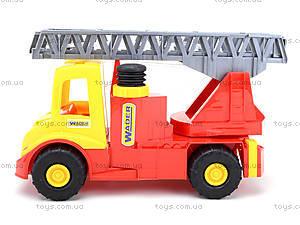 Игрушечная машина для детей «Пожарная», 32170, toys.com.ua