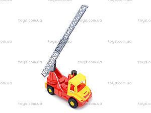 Игрушечная машина для детей «Пожарная», 32170, toys
