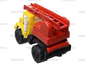 Игрушечная машина, для детей «Пожарная», MG-074, фото