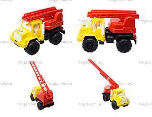 Игрушечная машина, для детей «Пожарная», MG-074