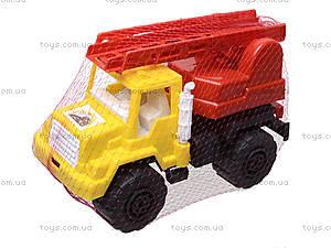 Игрушечная машина, для детей «Пожарная», MG-074, отзывы