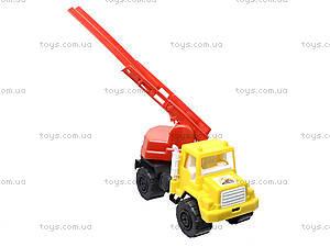 Игрушечная машина, для детей «Пожарная», MG-074, игрушки