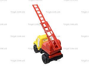 Игрушечная машина, для детей «Пожарная», MG-074, детские игрушки