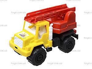 Игрушечная машина, для детей «Пожарная», MG-074, магазин игрушек