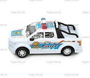 Игрушечная машина для мальчиков «Полиция», 566-5