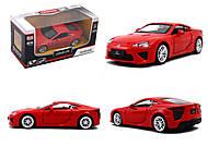 Игрушечная машина Lexus LFA серии «Автодром», 6433, купить