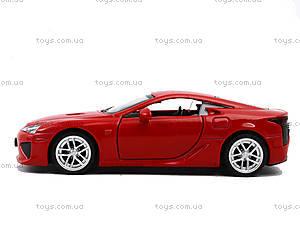 Игрушечная машина Lexus LFA серии «Автодром», 6433, купити
