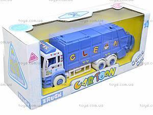 Игрушечная машина «Мусоровоз» для детей, 6304, отзывы