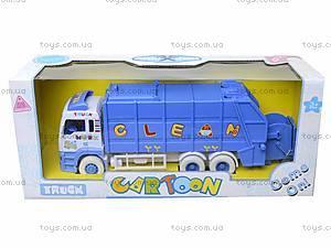 Игрушечная машина «Мусоровоз» для детей, 6304, цена