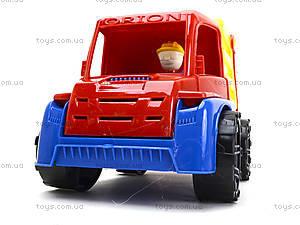 Игрушечная машина Орион «Мусоровоз», 300, игрушки