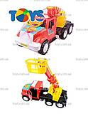 Игрушечная Машина Пожарная «Дампер», 13-004-1, отзывы