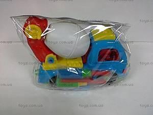 Машинка для мальчика «Бетономешалка», ИП.29.001