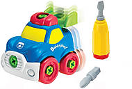 Игрушечная машинка-конструктор «Полицейская», K11936, детские игрушки