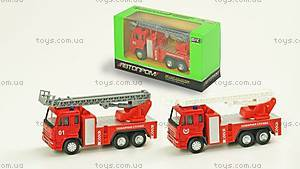 Игрушечная машинка «Пожарная служба», 6514AB, купить