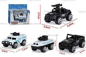 Игрушечная машинка «Полицейская техника», 595-A-64, купить