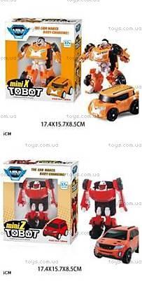 Игрушечная машинка-трансформер Tobot, 238X238Z