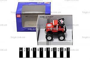 Игрушечная металлическая машинка, в коробке, 5588-24