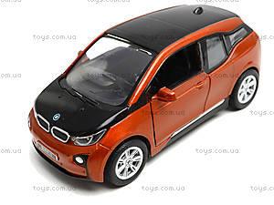 Игрушечная модель джипа BMW I3, KT5380W, детский