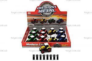 Игрушечная модель металлического трактора, M8698-012