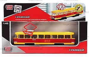 Игрушечная модель «Трамвай», CT12-463-2