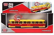Игрушечная модель «Трамвай», CT12-463-2, купить
