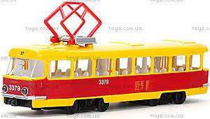 Игрушечная модель «Трамвай», CT12-463-2, фото