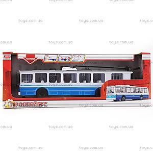 Игрушечная модель «Троллейбус», SB-14-02