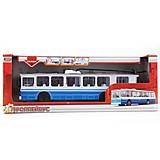 Игрушечная модель «Троллейбус», SB-14-02, отзывы