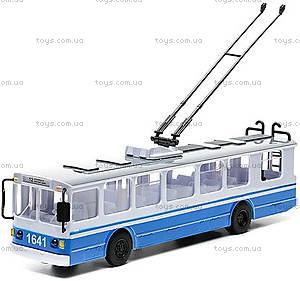 Игрушечная модель «Троллейбус», SB-14-02, фото