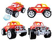 Игрушечная пожарная машина для детей, 3541, опт