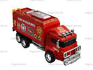 Игрушечная пожарная машина Fire, 128-34, toys.com.ua