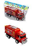 Игрушечная пожарная машина Fire, 128-34, отзывы