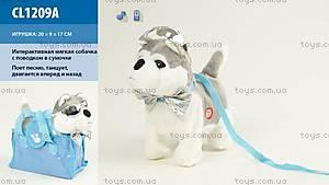 Игрушечная «Собака с поводком», CL1209A
