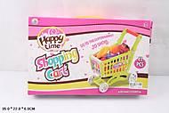 Игрушечная тележка с продуктами «Супермаркет», JFY8021, отзывы