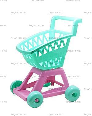 Игрушечная тележка «Супермаркет» в ассортименте, 36-001, toys.com.ua