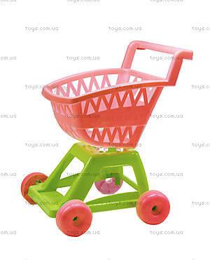 Игрушечная тележка «Супермаркет» в ассортименте, 36-001
