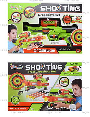 Игрушечная винтовка со стрелами на присосках, 881-01