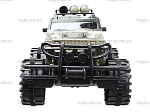 Игрушечная инерционная машина «Военный джип», 364D, фото