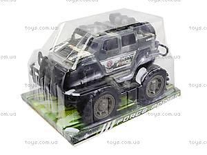 Игрушечная инерционная машина «Военный джип», 364D, цена