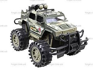 Игрушечная инерционная машина «Военный джип», 364D, детские игрушки
