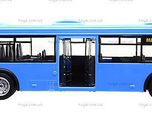 Игрушечнный автобус серии «Автопарк Маршрут», 9690-D, фото