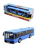Игрушечнный автобус серии «Автопарк Маршрут», 9690-D