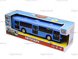 Игрушечнный автобус серии «Автопарк Маршрут», 9690-D, отзывы