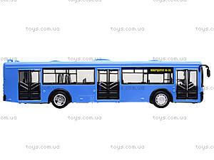Игрушечнный автобус серии «Автопарк Маршрут», 9690-D, цена